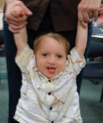 Camden, two years, Partial Trisomy 9p